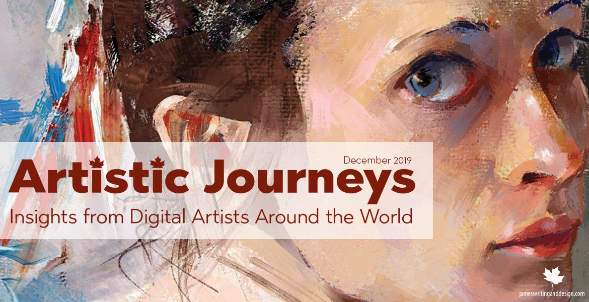 Artistic Journeys is an online publication that explores the lives of creative individuals as they share their experiences. In December 2019, we will learn more about Georg Ireland.