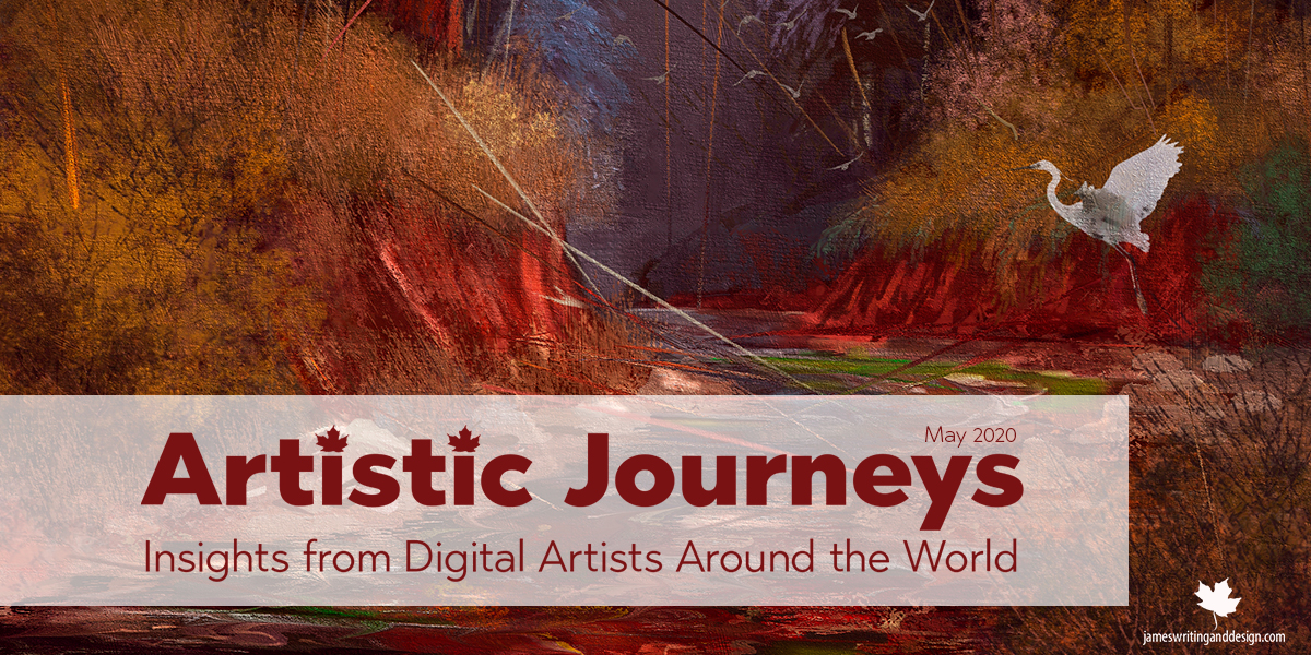 Artistic Journeys – May – Karen Bonaker