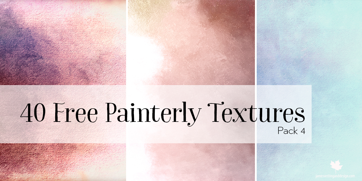 40 Free Painterly Textures Pack 4
