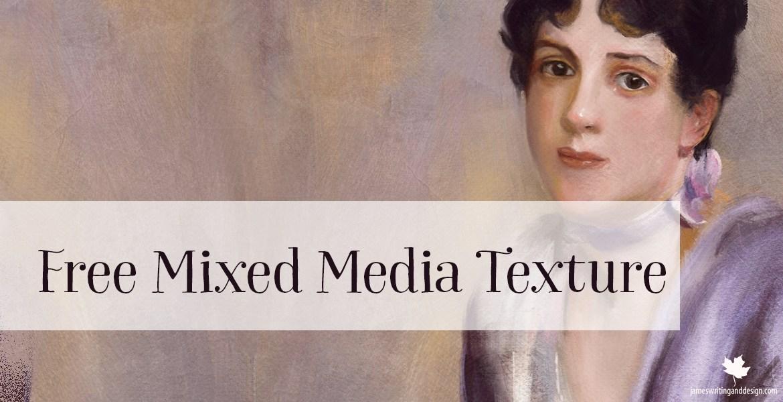 Mixed Media Free Texture for Digital Artwork