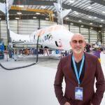 Jordan Adler and the Virgin Galactic Spacecraft