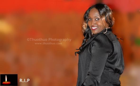 UPDATE: Death & Funeral Announcement of Joan Njeri Gitau (JoJo) of Lowell Massachusetts