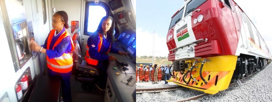 Meet Kenya's first women steering trains on new SGR line