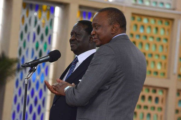 Raila gives Uhuru pre-conditions before any dialogue starts