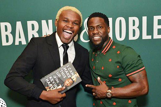 Proof that Chipukeezy lied on meeting Kevin Hart emerges