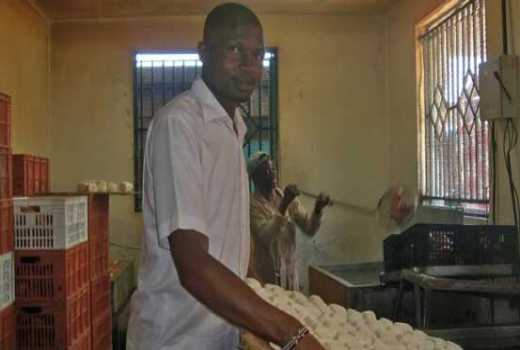 "Form four drop out makes 50, 000 daily from baking ""KDF"" snacks"