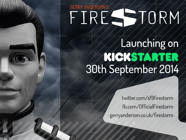 Gerry Anderson's Firestorm on Kickstarter