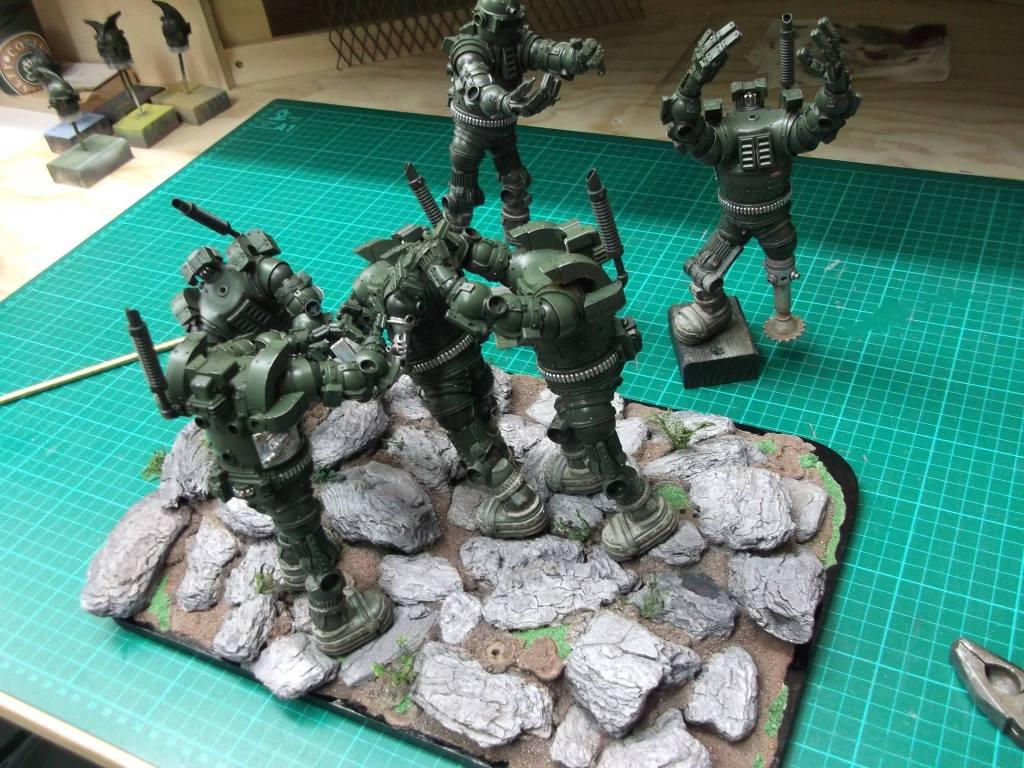 David Tremont's droids of war