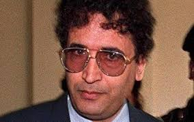 Megrahi: Guilty of a terrible crime - those glasses are fucking horrendous.