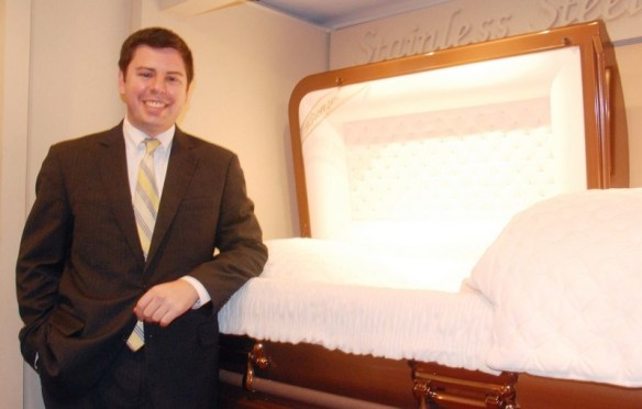 Funeral director: probably the most hilarious of all the professions