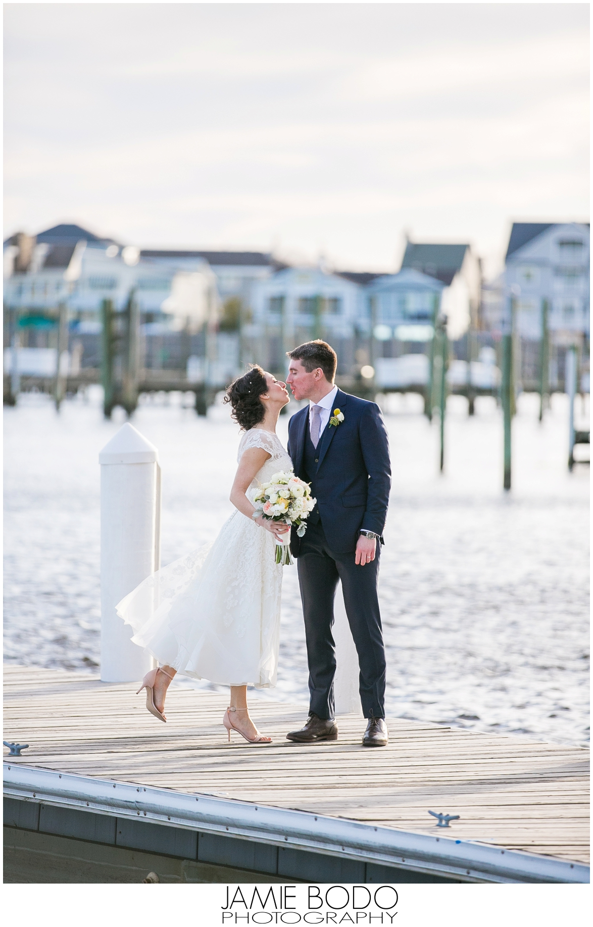 Bay Head Yacht Club Wedding Photos  Jamie Bodo Photography