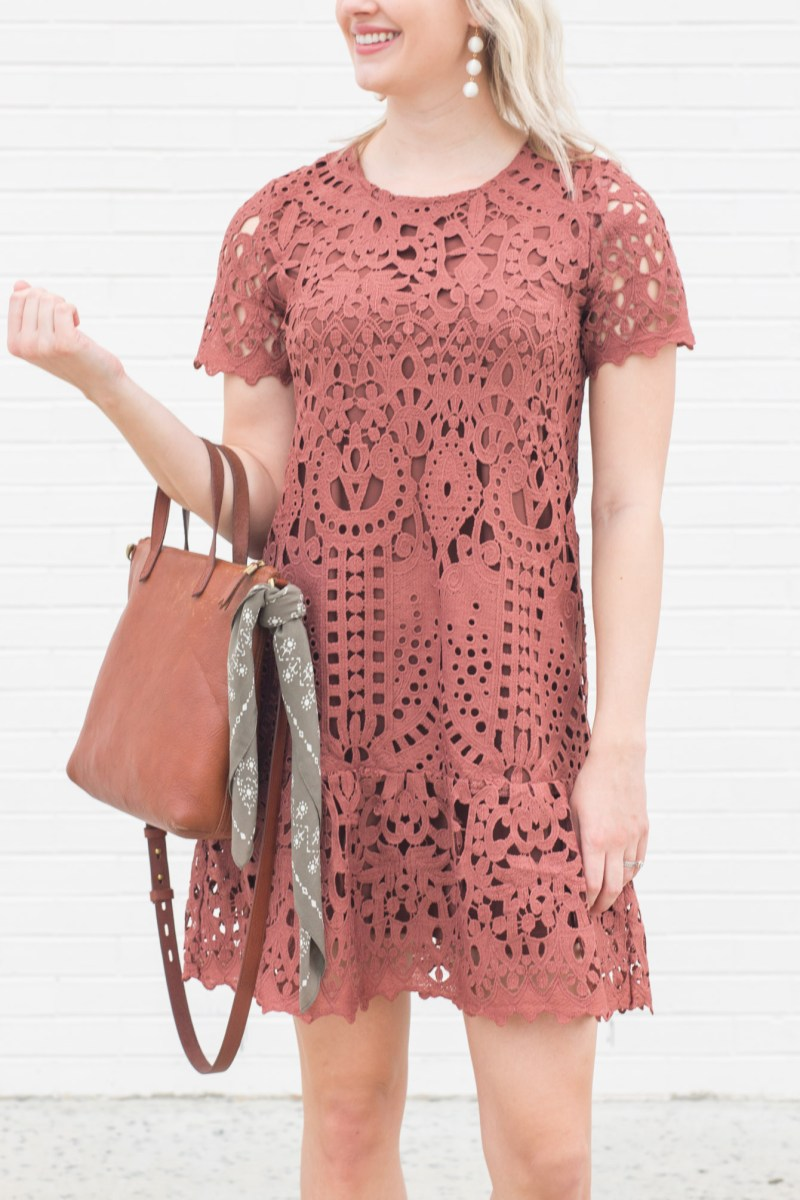 The Perfect Lace Dress for Spring Under $50
