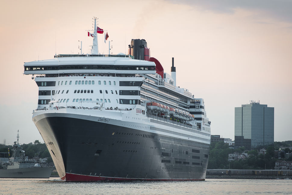 Queen Mary 2 Leaving Halifax-6985