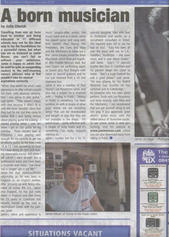 Caterham Independent Aug 2006