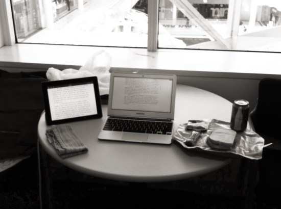 Lunch Writing
