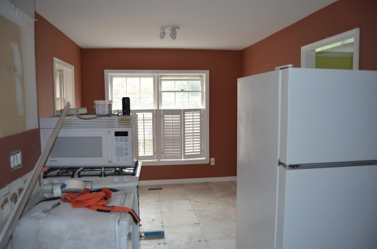 Kitchen Remodel East, Day 9
