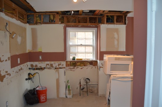 Kitchen Remodel North, Day 3