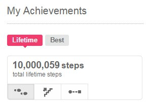 10 million steps