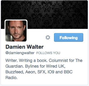 Damien Walter on Twitter
