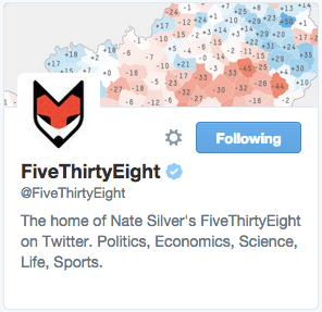 FiveThirtyEight on Twitter