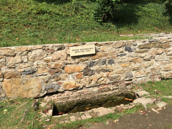 George Washington's Bathtub