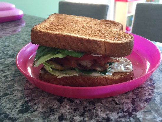 A BLT I'm particularly proud of