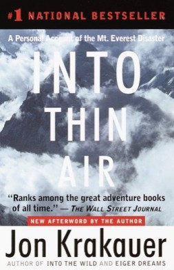 Cover for Into Thin Air