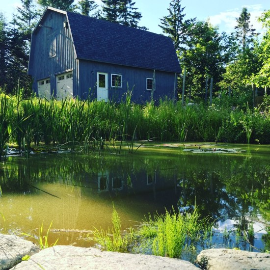 That barn in Maine
