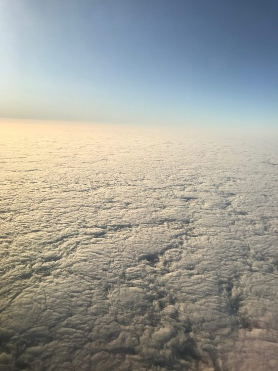Clouds above Los Angeles