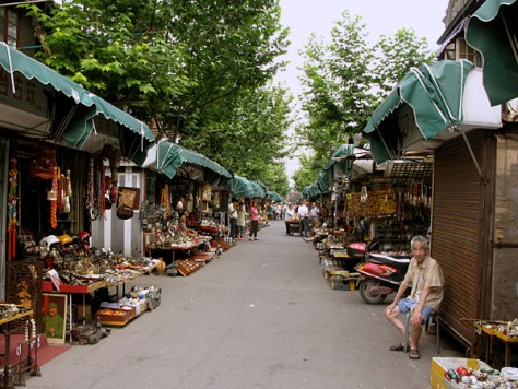 China, Shanghai, Dongtai Road Antique Market