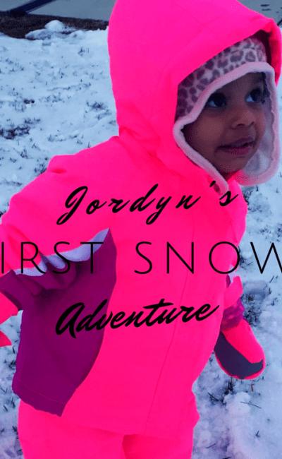 Jordyn's 1st Snow Adventure