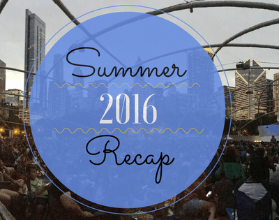 Summer 2016 Recap!