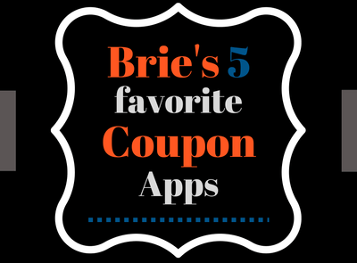 Brie's Favorite Coupon Apps