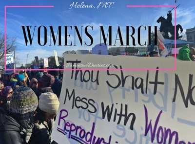 Women's March- Helena, MT