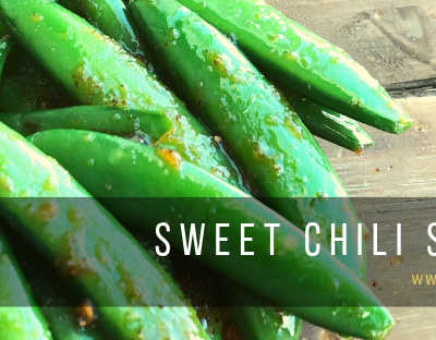 Sweet Chili Snap Peas