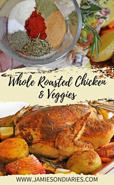 Whole Roasted Chicken & Veggies