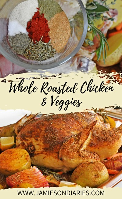 Whole Roasted Chicken & Veggies