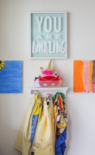DIY Kids Canvas Art