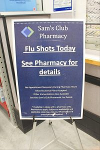 Sam's Club: Flu Shot & Sick Kits