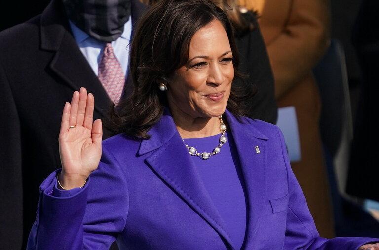 Kamala Harris first Black Woman Vice President