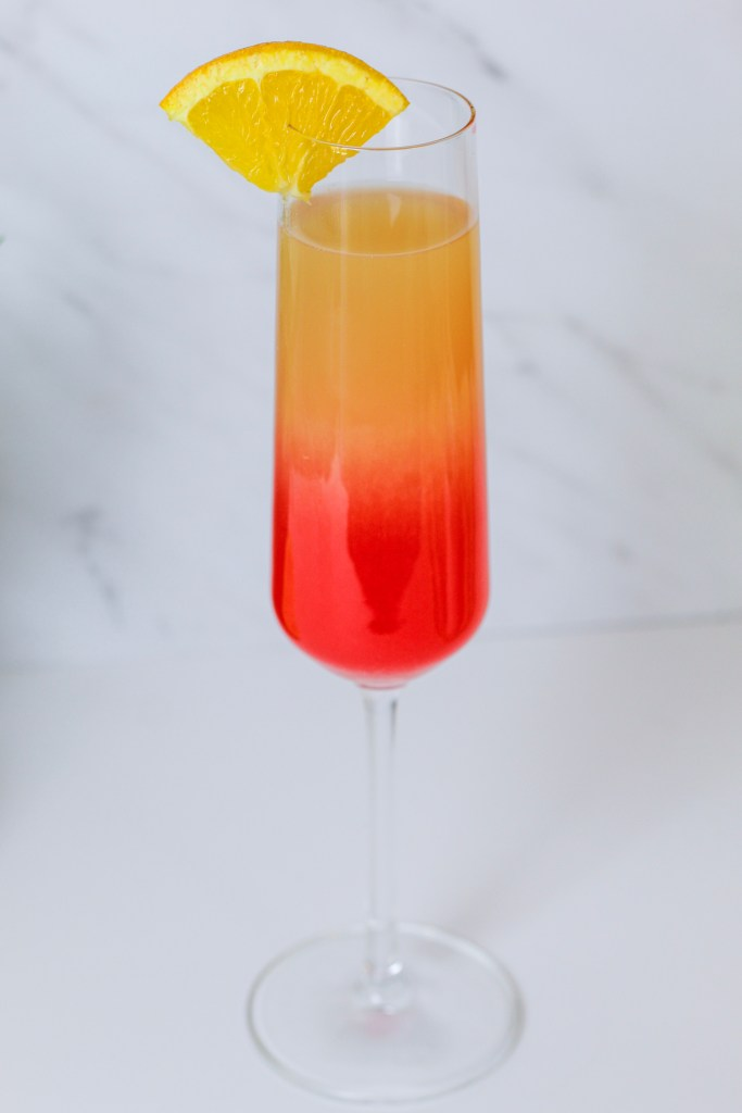 Mother's Day ombré mimosas