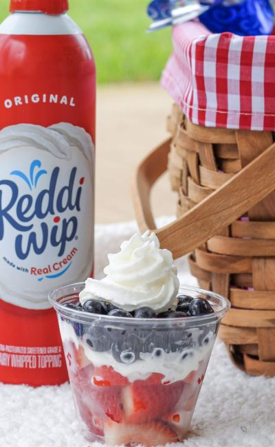 Easy 4th of July Dessert Cups
