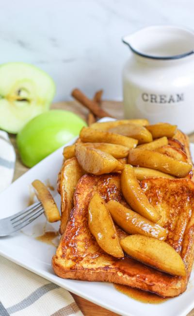 Cinnamon Apple French Toast