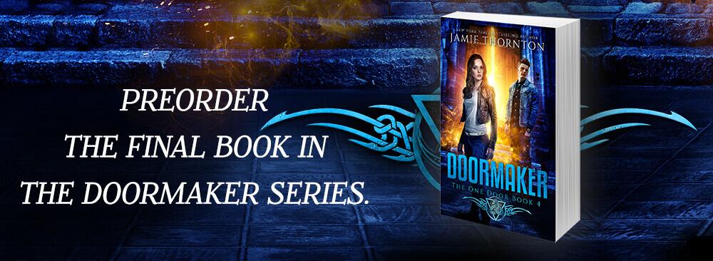 Preorder Doormaker book 4