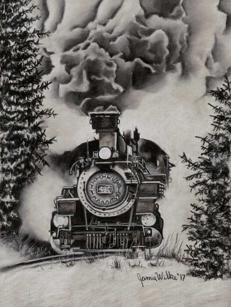 """Colorado Steam Train"" - Fine Art Print | Jamie Wilke Fine Art"