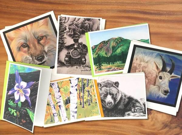 Fine Art Notecards by Jamie Wilke: Blank Inside