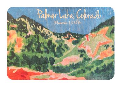 Palmer Lake Star: Wood Magnet - Jamie Wilke Fine Art - Plant a Tree