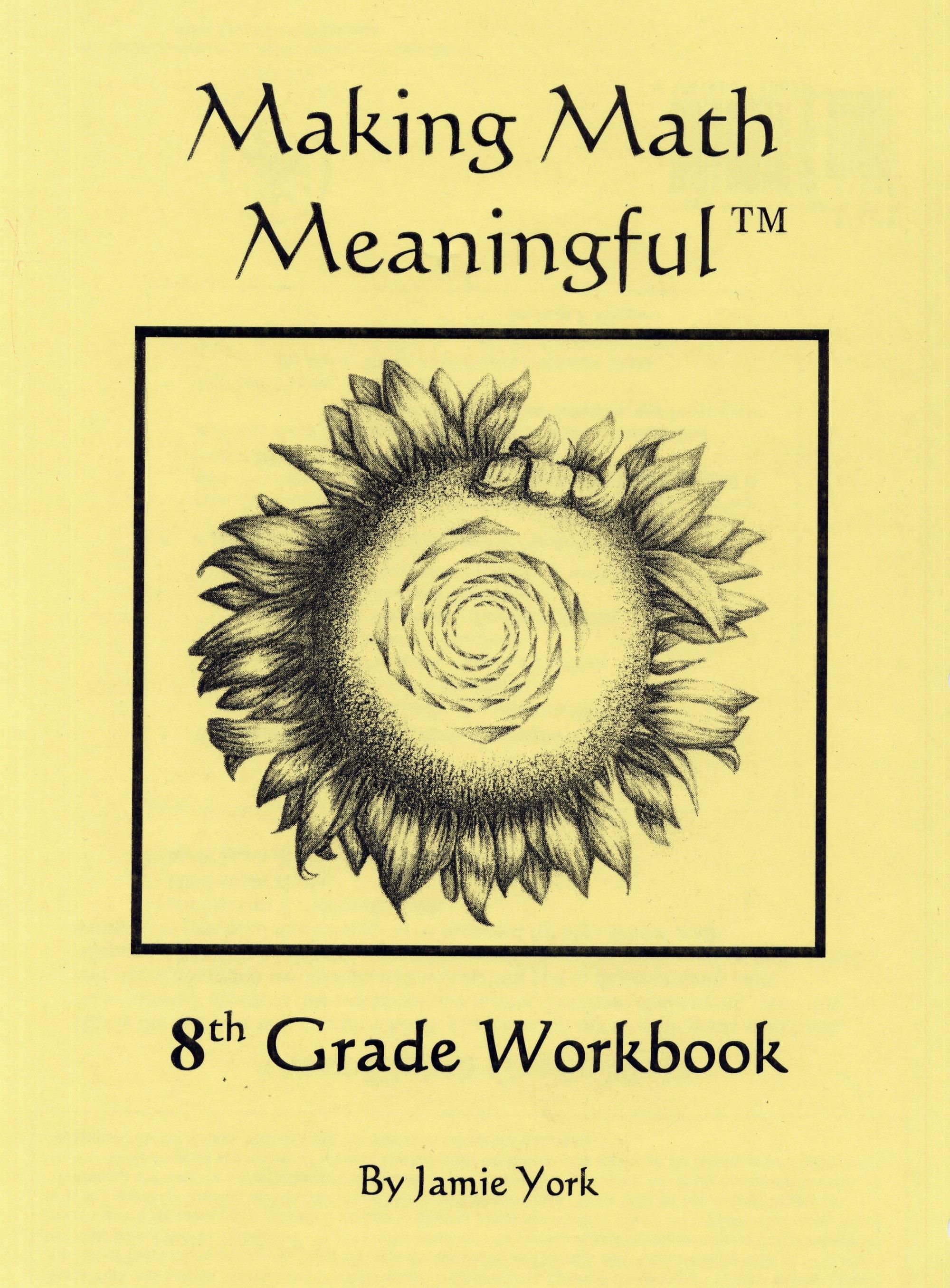 hight resolution of 8th Grade Student Workbook - Jamie York Press
