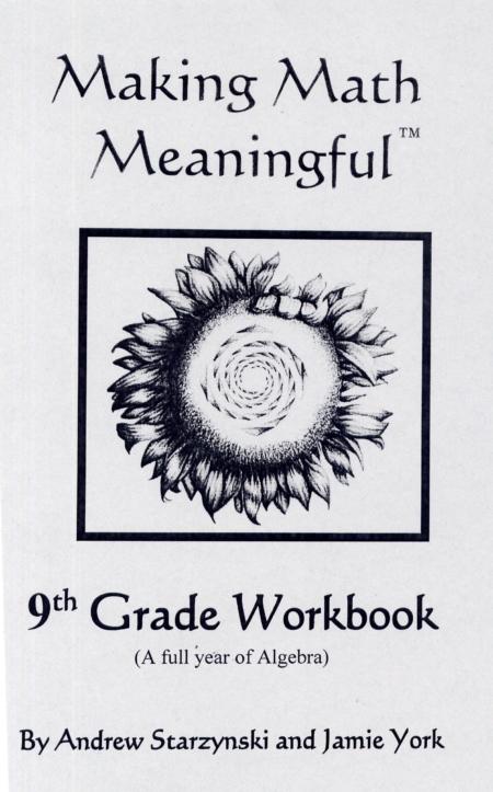 9th Grade Student Workbook
