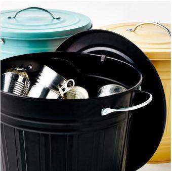 IKEA KNODD retro dustbin/storage bin